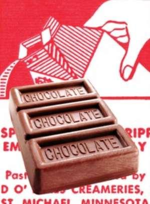 Рокировка молочного шоколада