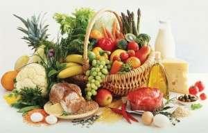 Содержание минералов и витаминов в продуктах