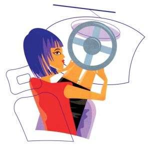 Фитнес за рулем